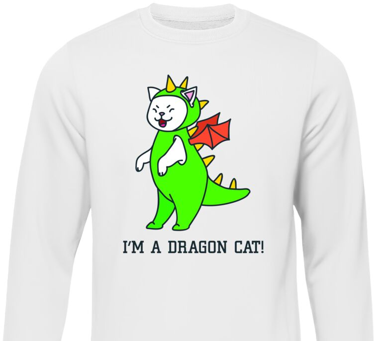 Сумка I'm a dragon cat!