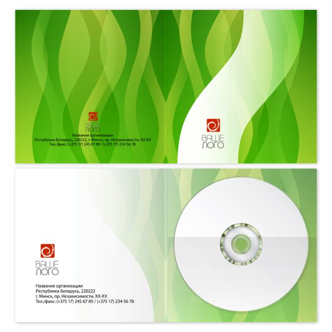 Covers for CD, DVD