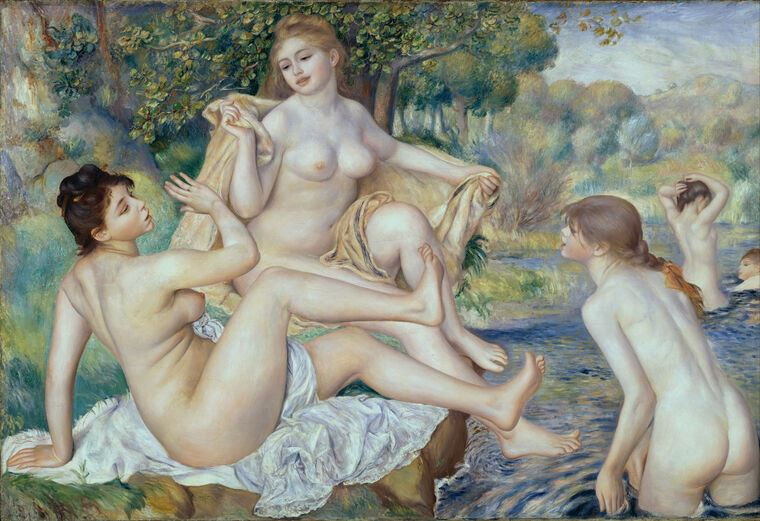 Картина Пьер Огюст Ренуар The Large Bathers
